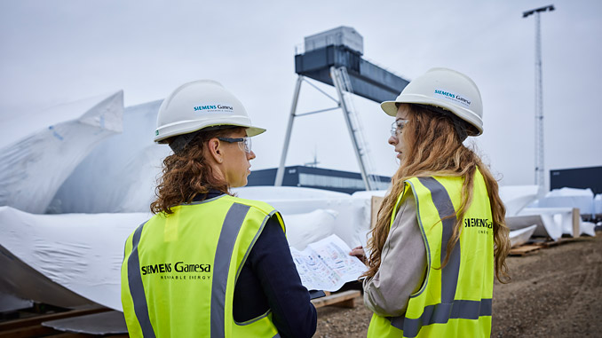 Siemens Gamesa sets ambitious gender equality targets pledging to increase female representation in the workforce and in executive management to 25% by 2025