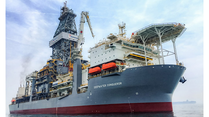 Ultra-deepwater, dual activity drillship, 'Deepwater Conqueror'