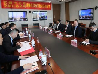 Wärtsilä and Huaneng Jiangsu Co signed a Strategic Cooperation Framework Agreement on the development of sustainable power generation in Jiangsu, China, in December 2020