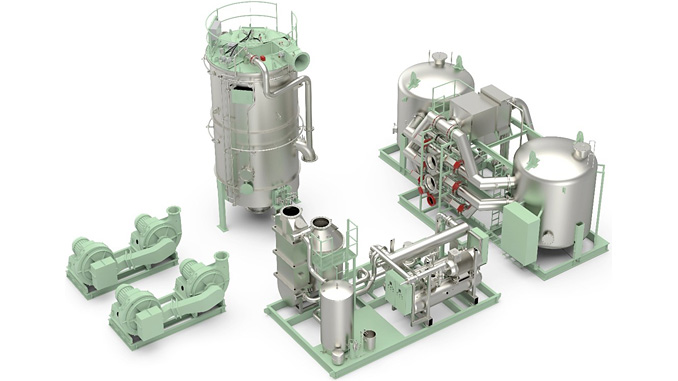 Wärtsilä's main components for Inert Gas and combined (Inert Gas and Gas Combustion Unit) system