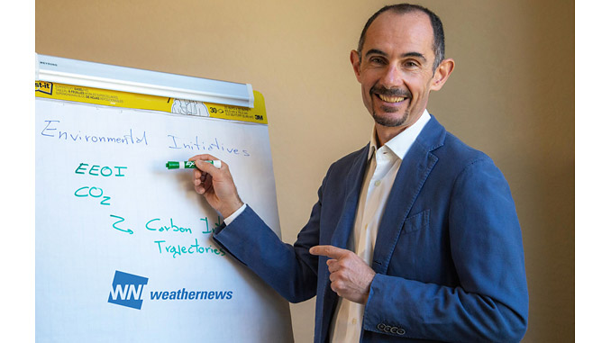 Antonio Brizzo, CEO Weathernews Americas, is a WNI/Weathernews veteran of 25 years and passionate about making shipping more environmentally friendly through the application of innovative eco-solutions leveraging the latest technology
