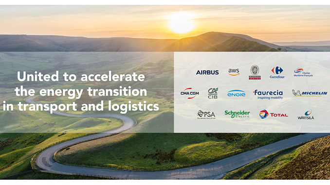 Wärtsilä is one of the members of an international coalition dedicated to accelerating the energy transition in the transport and logistics industries (illustration: The Coalition for the Energy of the Future)