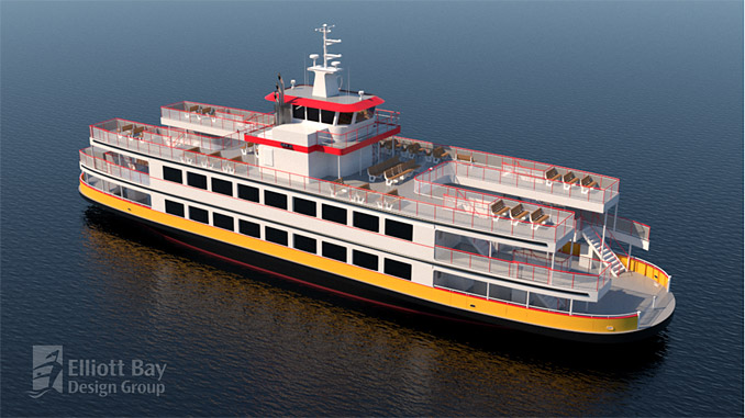 Casco Bay Lines new ferry will feature ABB's hybrid-electric power and propulsion solutions