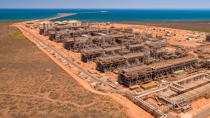 The Gorgon Project is being constructed on Barrow Island, located about 60 km off the northwest coast of Western Australia
