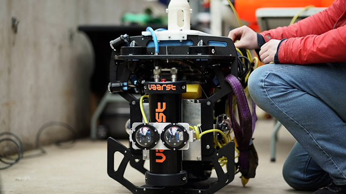 Autonomous Aquatic Inspection and Intervention (A2I2) developed by a collaboration of companies from across the UK successfully completed its nuclear use case drop two trials at Forth's Deep Recovery Facility in Cumbria in March 2021
