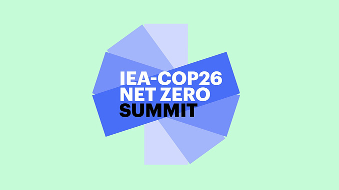 Global gathering on 31 March will strengthen international efforts to accelerate clean energy transitions worldwide in the run-up to COP26 in November and beyond (illustration: IEA)
