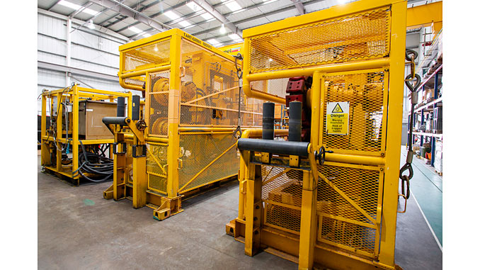 Innovo's electrically driven 10 tonne tensioners