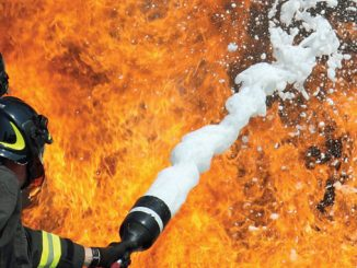 Non-fluorinated foam concentrate verified to achieve control and extinguishment at the same application rates as a UL 162 listed AR-AFFF on Type III hydrocarbon fuel fires