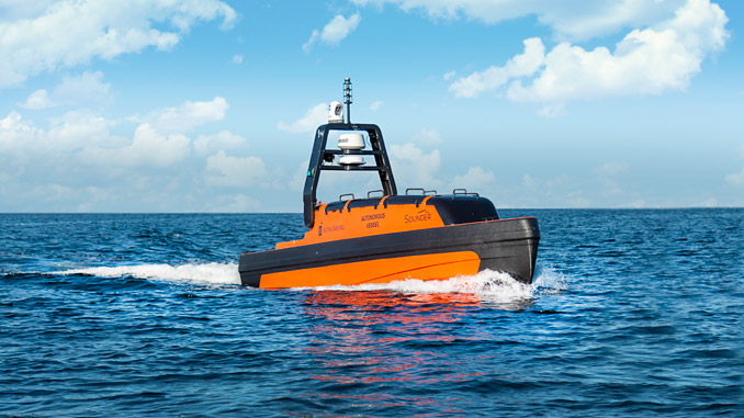 Kongsberg Maritime's extensive subsea portfolio includes high performance multibeam and single beam echosounders, and several autonomous platforms such as the Sounder USV