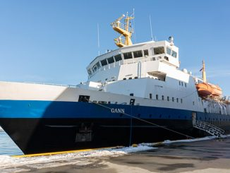 Training vessel 'MS Gann' is to be fitted with an extensive equipment package supplied by Kongsberg Maritime (photo: Peder Otto Dybvik)