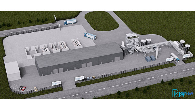 The plant will use HydroPRS™ to recycle end-of-life plastic waste into hydrocarbon feedstocks