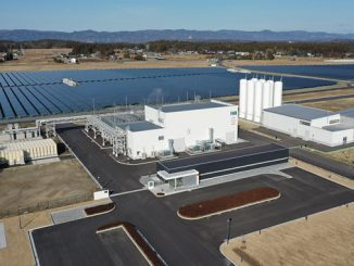 FH2R – the Fukushima Hydrogen Energy Research Field (photo: Toshiba)