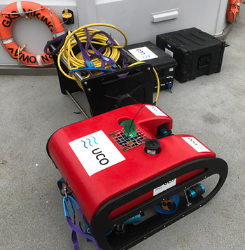UCO observation and inspection ROV