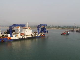 The Wärtsilä Optimised Maintenance Agreement covers the 'Athena' cutter suction dredger, owned by Netherlands-based Van Oord