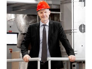 Sigurd Jenssen, Director, Exhaust Treatment at Wärtsilä, is excited to see new exhaust gas abatement systems taking shape at the test facility in Moss, Norway