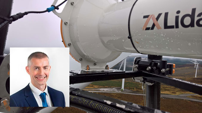 Dr Steven White, ZX Lidars Director of Turbine Mounted Lidar