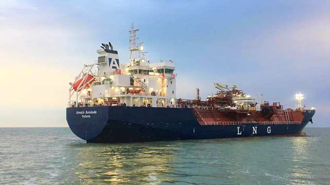 'Avenir Accolade' is designed to support small-scale LNG distribution and bunkering