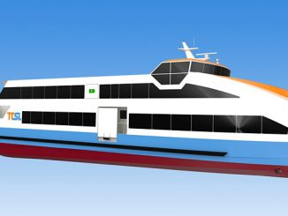 The electric ferries will be powered by battery packs with a total capacity of 1,860 kWh each
