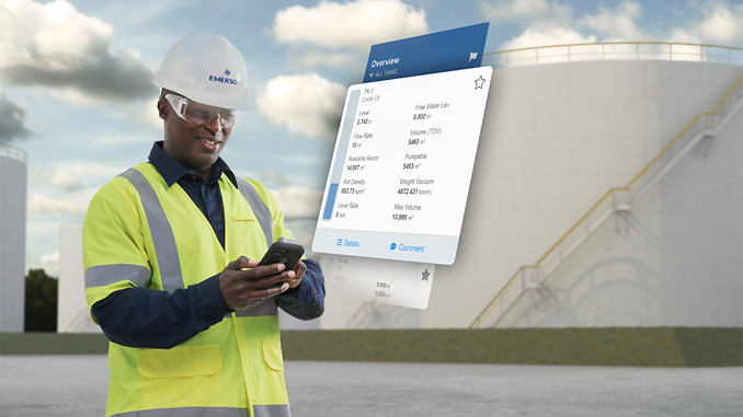 Rosemount TankMaster Mobile provides mobile access to live tank data, providing a clear overview of all tanks at a facility, with the ability to quickly drill down to detailed information resulting in more efficient tank monitoring