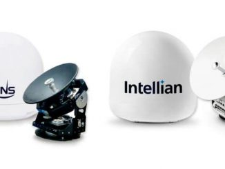 45-cm terminals from KNS and Intellian are now qualified on the Intelsat FlexMaritime network
