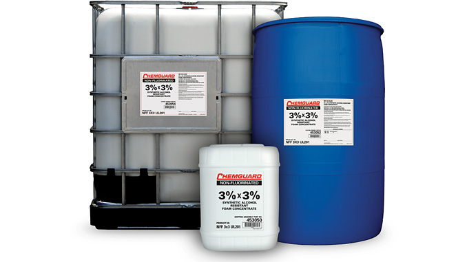 Chemguard® 3x3 – non-fluorinated foam concentrate verified to achieve control and extinguishment at the same application rates as a UL 162 listed AR-AFFF on Type III hydrocarbon fuel fires