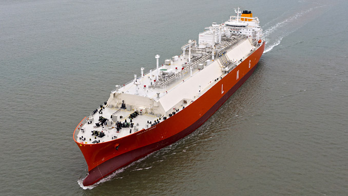 The 'Hellas Diana' is one of the two vessels in the Latsco LNG Marine Management fleet to be covered by the latest Wärtsilä Optimised Maintenance agreement