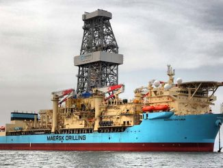 'Maersk Venturer' is a high-specification 7th generation drillship which was delivered in 2014