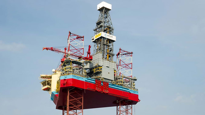 'Maersk Integrator' is an ultra-harsh environment CJ70 XLE jack-up rig, designed for year-round operations in the North Sea and featuring hybrid, low-emission upgrades