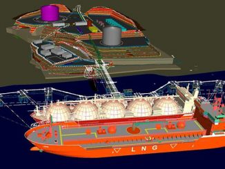 AG&P's Philippines LNG import and regasification terminal, currently under construction in Batangas, Philippines