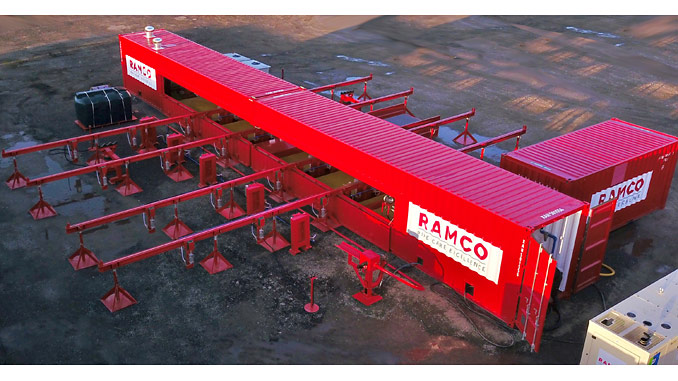 Ramco's latest generation pipe care unit, PCU4