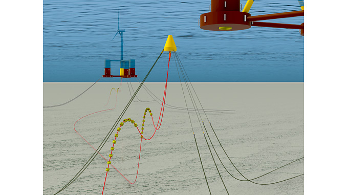 Disconnectable Turret for Renewables (DTR) for floating offshore wind