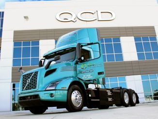 Volvo Trucks North America customer QCD will deploy 14 Volvo VNR Electric models in its Southern California last-mile delivery routes by the end of 2022