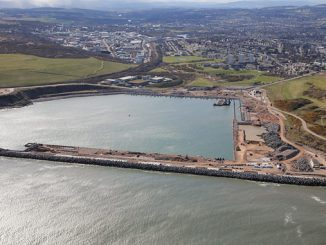 Aberdeen South Harbour expansion project