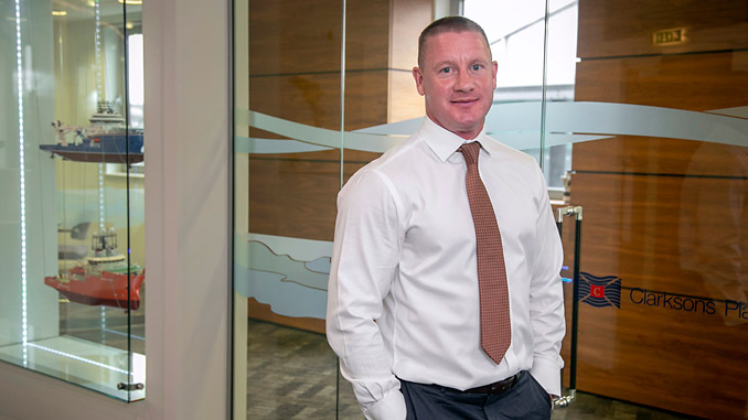 Aberdeen-based Jonathan Lints is Divisional Director Subsea with Clarksons Platou (Offshore) Limited