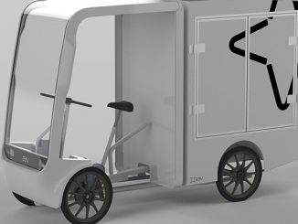 EAV will use their well-established 2Cubed vehicle platform with its patented 'Cloudframe' chassis
