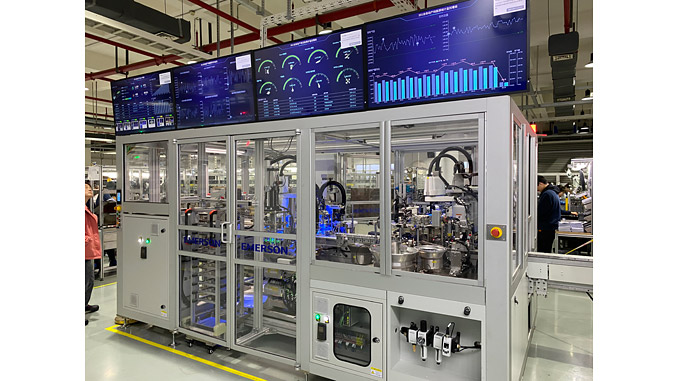 Emerson's fluid and measurement motion control business uses PACEdge dashboards software to monitor energy consumption, including gas and electricity, of its production lines to help drive its sustainability efforts