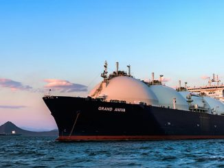 Subdued demand for LNG carriers resulted in the decline in LNG spot charter rates during the first three quarters of 2020 (photo: GECF)