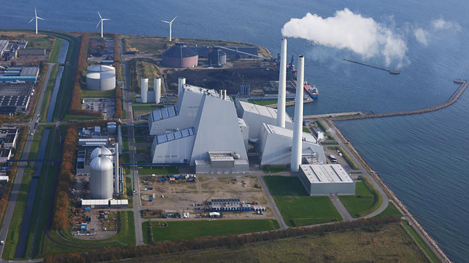 Avedøre Power Station, where the power from Aflandshage can be brought onshore
