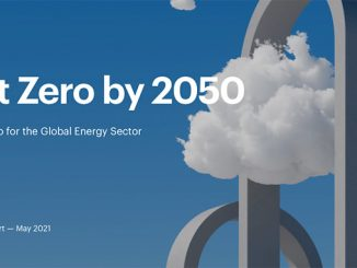 The world's first comprehensive study of how to transition to a net zero energy system by 2050 while ensuring stable and affordable energy supplies, providing universal energy access, and enabling robust economic growth (illustration: IEA)