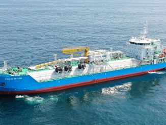 'FueLNG Bellina', Singapore's first LNG bunkering vessel