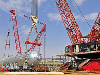 Samsung Engineering awarded heavy lifting and transport scope to Mammoet in Saudi Arabia