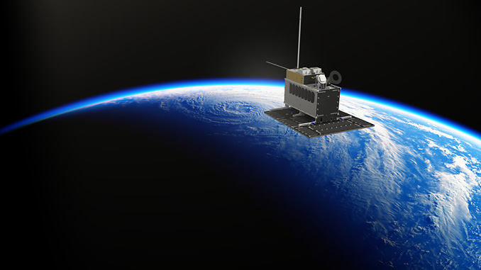 NorSat-3 carries AIS and radar detection payloads developed by or in collaboration with KONGSBERG (illustration: Norwegian Space Agency)
