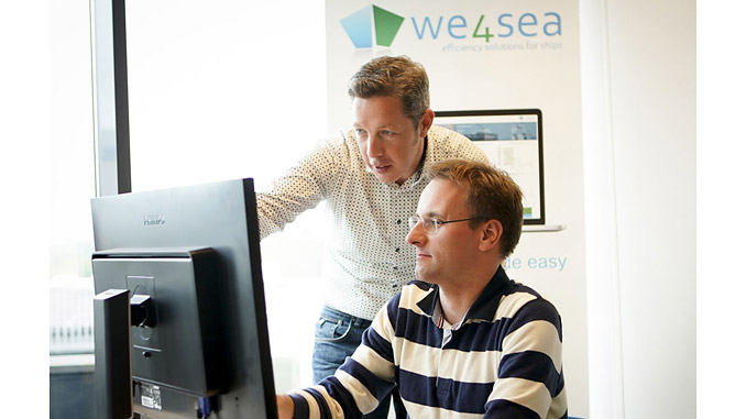 Requiring no hardware onboard, the We4Sea application uses a Digital Twin as the basis for comparison with ship and operating profile data