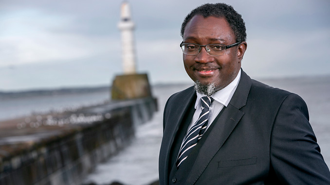 Dr Ollie Folayan, chairman of Aberdeen-based AFBE-UK Scotland