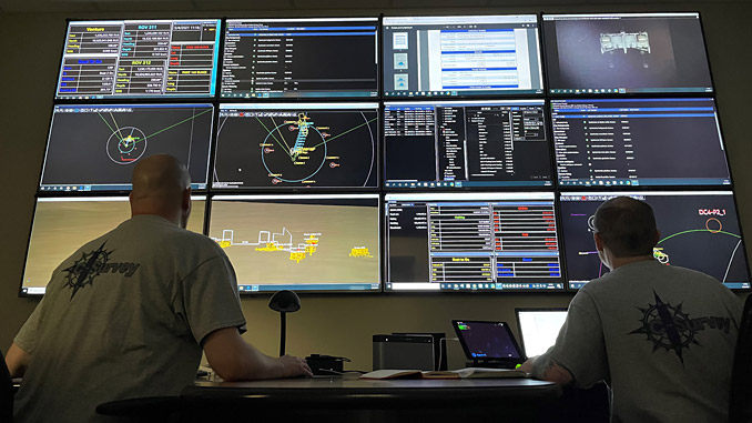 C-I's remote survey services underway in its US headquarters