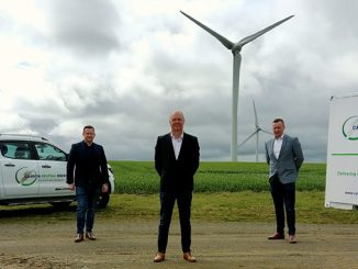 From left, Harry Patterson, CNE COO; Gary Wilson, Commercial Director; and Philip Patterson, Sales Director