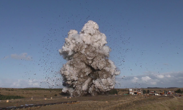 Figure 1: A pressure plateau during a full-scale burst arrest test at DNV's Research and Development Centre in Cumbria, UK (photo: DNV)
