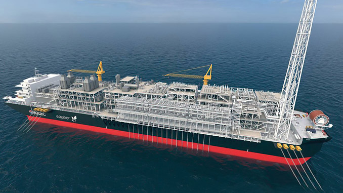 Bacalhau development will consist of 19 subsea wells tied back to an FPSO located at the field
