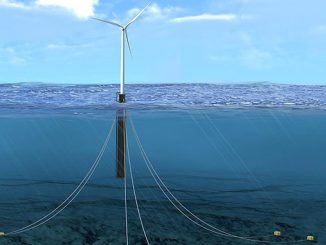 Mooring line fatigue tracker that safely and cost-effectively monitors offshore floating wind turbines