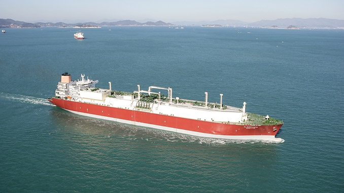 LNG carrier owned by Qatar-based Nakilat